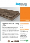 Earthwool OmniFit Ceiling Slab Datasheet